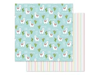 Echo Park 12 x 12 in. Paper All Girl - No Prob-Llama (25 pieces)