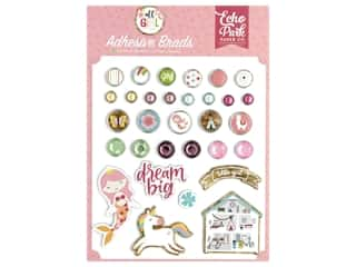 Echo Park Collection All Girl Adhesive Brads