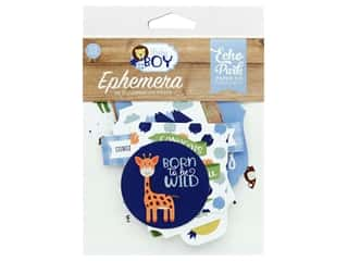 Echo Park Collection Baby Boy Ephemera