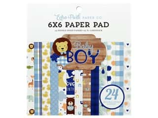 Echo Park Collection Baby Boy Paper Pad 6 in. x 6 in.