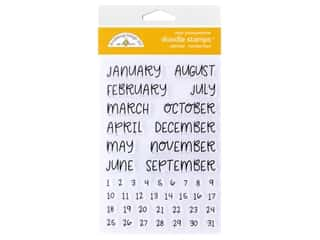 Doodlebug Collection All Occasion Stamp Calendar Handwritten