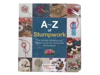 Search Press A-Z of Stumpwork Embroidery Book