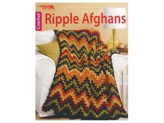 Leisure Arts Crochet Ripple Afghans Book