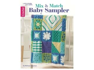 books & patterns: Leisure Arts Mix & Match Baby Sampler Crochet Book