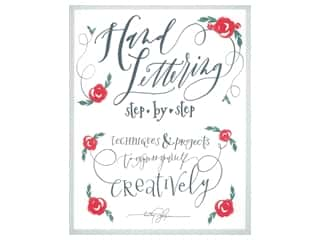 Get Creative 6 Hand Lettering Step By Step Book