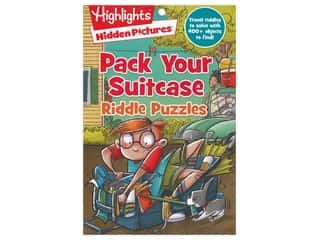 books & patterns: Highlights Pack Your Suitcase Riddle Puzzles Book