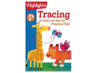 books & patterns: Highlights Preschool Tracing Book