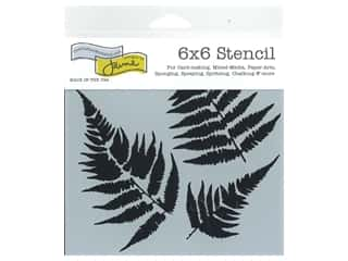 craft & hobbies: The Crafter's Workshop Template 6 x 6 in. Ferns