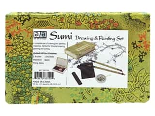 Art Advantage Sumi Drawing & Painting Set 8pc