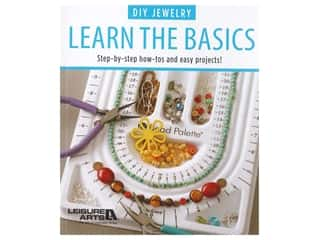 beading & jewelry making supplies: Leisure Arts DIY Jewelry Learn The Basics Book