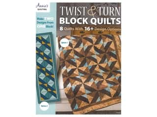 Annie's Twist & Turn Block Quilts Book