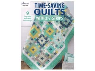 "books & patterns: Annie's Time-Saving Quilts With 2 1/2"" Strips Book"