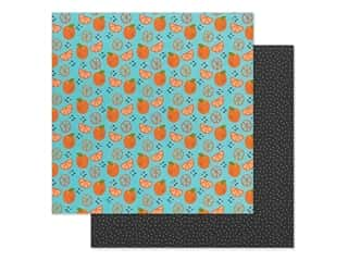 Bella Blvd Collection Squeeze The Day Paper 12 in. x 12 in. Orange You Glad (25 pieces)