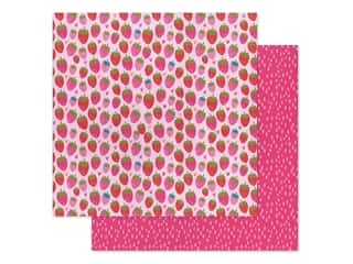 Bella Blvd Collection Squeeze The Day Paper 12 in. x 12 in. So Berry Sweet (25 pieces)