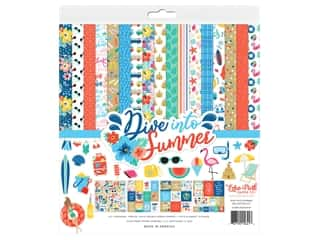 Echo Park Collection Dive Into Summer Collection Kit 12 in. x 12 in.