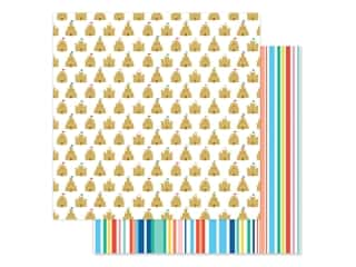 scrapbooking & paper crafts: Echo Park Collection Dive Into Summer Paper 12 in. x 12 in. Sandcastle Kingdom (25 pieces)