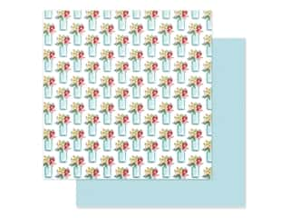 Carta Bella Collection Summer Market Paper 12 in. x 12 in. Sweet Summer Jars (25 pieces)