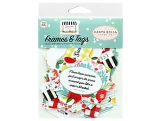 scrapbooking & paper crafts: Carta Bella Collection Summer Market Frames & Tags