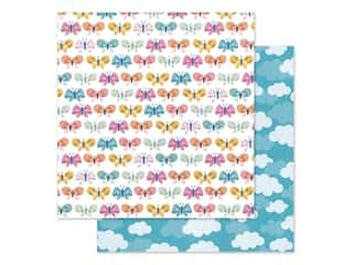 "Pebbles Collection Sun & Fun Paper 12""x 12"" Butterfly Love (25 pieces)"