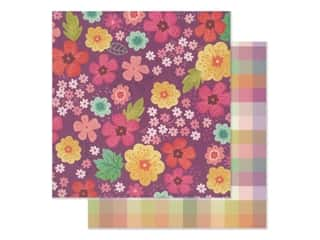 "Pink Paislee Collection Paige Evans Truly Grateful Paper 12""x 12"" Paper 2 (25 pieces)"