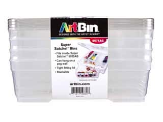 craft & hobbies: ArtBin XL Bins With Lids 4pc