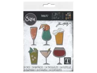 Sizzix Dies Thinlits Happy Hour