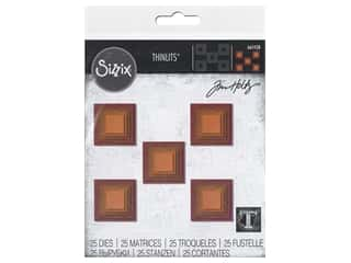 Sizzix Dies Tim Holtz Thinlits Stacked Tiles Squares