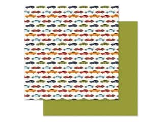 "Echo Park Collection All Boy Paper 12""x 12"" Race Car Lanes (25 pieces)"