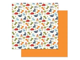 "Echo Park Collection All Boy Paper 12""x 12"" Dino-Mite (25 pieces)"