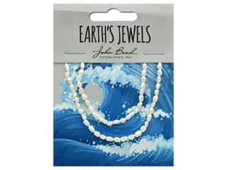 John Bead Freshwater Pearls Rice Shape 2-3mm White