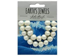 John Bead Freshwater Pearls Potato Shape 10-12mm White