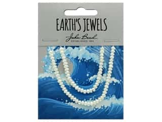 John Bead Freshwater Pearls Semi Round Shape 2-3mm White