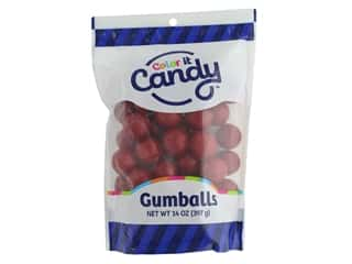 Color it Candy Gumballs - Red 14 oz.