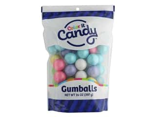 Color It Candy Gumballs Stand Up Bag Shimmer Spring Mix 14oz