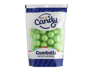 Color it Candy Gumballs - Shimmer Lime 14 oz.