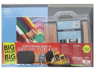 Pro Art Sets Art On The Go Travel Kit 23pc