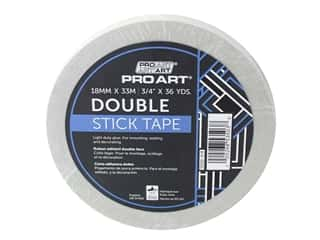 "glues, adhesives & tapes: Pro Art Tape Double Stick Adhesive .75""x 36yd"