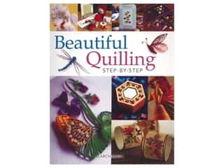 Search Press Beautiful Quilling Step-By-Step Book
