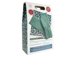yarn & needlework: Crafty Kit Company Crochet Kit Fingerless Mitts