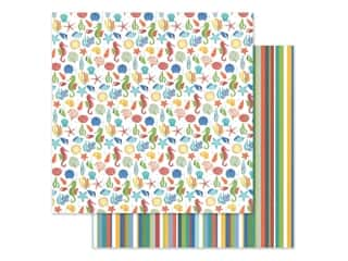 "scrapbooking & paper crafts: Photo Play Collection Fish Tales Paper 12""x 12"" Aquarium (25 pieces)"
