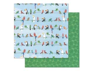 """scrapbooking & paper crafts: Photo Play Collection Aloha Paper 12""""x 12"""" Parrot Bay (25 pieces)"""