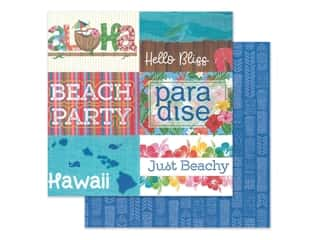 "Photo Play Collection Aloha Paper 12""x 12"" Paradise (25 pieces)"