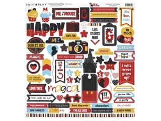 "Photo Play Collection Another Day At The Park Sticker 12""x 12"" Elements (12 pieces)"