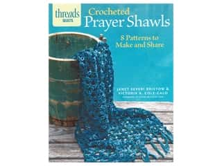 Taunton Press Threads Selects Crocheted Prayer Shawls Book