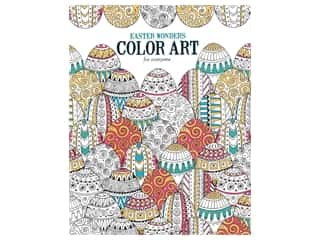 Leisure Arts Easter Wonders Color Art For Everyone Coloring Book