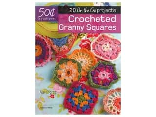 Search Press 20 On The Go Projects Crocheted Granny Squares Book