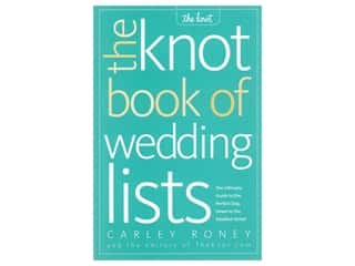 books & patterns: Potter The Knot Book of Wedding Lists Book