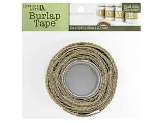 Leisure Arts Burlap Tape - 2 in. x 3 yd. Natural