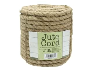 "craft & hobbies: Leisure Arts Jute Cord .47"" 98ft"