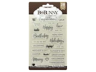 Bo Bunny Stamp Essentials Sweet Celebration